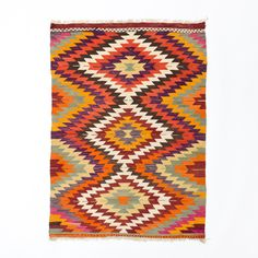 Vintage Anatolian Kilim- this would be perfect on white distressed floor boards!