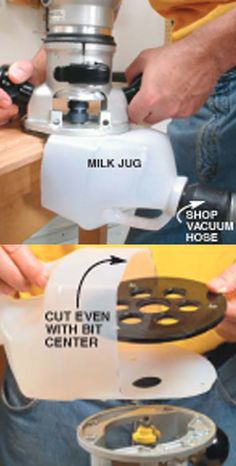 Milk Jug Dust Collection
