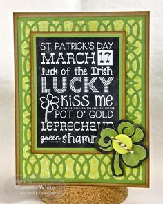 Enchanted Ladybug Creations: Taylored Expressions February Sneak Peeks - Wispy Wishes & Graphic Greetings St. Paddy's Day! 8-)