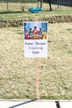 Life is Beautiful: Ana's Power Ranger party