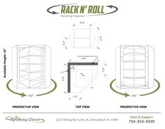 """""""Rack N Roll"""" A short version on the """"head over heels"""", Rotates 360° and have…"""