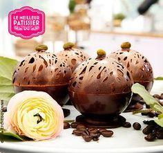 Recette de la sphère chocolat d'Emilie | Le Meilleur Pâtissier M6