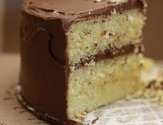 Scrumptious Yellow Buttermilk Cake