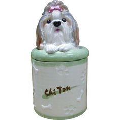 Shih Tzu Collectible Dog Puppy Cookie Jar