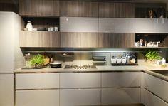 Cozinha linda em Milão - inspiracasa3561