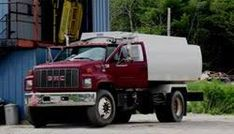 Image result for oil delivery truck
