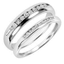 Image result for his and her wedding bands