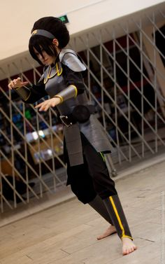 Toph Bei Fong, Avatar The Legend of Korra by TophWei.deviantart.com on @deviantART