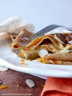 Régalez-vous avec les crêpes sans gluten (et 100% gourmandes) façon Suzette. Voilà une belle façon de finir un repas et d'épater les amis. Succès garanti.