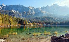Eibsee Lake, Germany