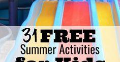 Free Printable Summer Bucket List for Kids