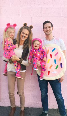 DIY Circus Animal Cookie Family Costume | A Joyful Riot {Couldn't resist ~ I'm kinda hooked on Animal Cookies & Pink (+ Black) is my fav. ~ Janelle/Snow}