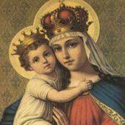 Our Lady of Good Remedy novena: Our Lady of Good Remedy is often depicted as the Virgin Mary handing a bag of money to St. John of Matha. This page has the novena to Our Lady of Good Remedy...supposed to be useful when one is in dire need of money.