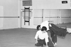 Furuya Sensei teaching at the Hollywood Aikido Club in the mid 1970s