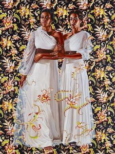 Kehinde Wiley.  Economy of Grace exhibit