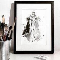 Marta Skowronek  JPG is my biggest inspiration  #art #artist #artwork #sketch #drawing #illustration #fashion #fashionart #fashionillustration #decoration #martasillustration #martaskowronek #interior #sideboard #homeoffice #scandi #brushes #watercolor #ink #jpg #jpgaultierofficial #mywork #monochromatic #blackandwhite #style #inspiration #nordic #living