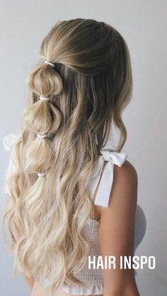 Medium Hair Styles, Curly Hair Styles, Hair Medium, Cute Hair Styles Easy, Hair Down Styles, Different Hairstyles, Cute Hairstyles With Braids, Hairstyle Short, Easy Pretty Hairstyles