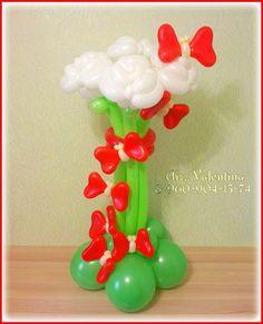 """Я тебя слепила из того что было)))) - Цветы и корзины - Клуб """"Воздушные шары"""""""