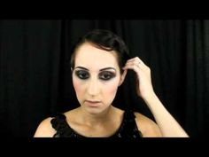 Great tutorial on a 20's style smokey eye. Great for performance or costume!