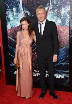 Anna Friel and Rhys Ifans at event of The Amazing Spider-Man