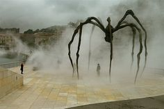Maman, by Louise Bourgeois, outside the Guggenheim Museum, Bilbao, Spain PHOTO CREDIT: Horatio Law
