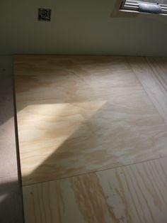 Using 4x8 Plywood Flooring Instead Of Hardwood