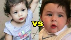 Taimur Ali Khan VS Misha Kapoor ! Who Looks more Cuter and Fashionable - Download This Video   Great Video. Watch Till the End. Don't Forget To Like & Share Taimur Ali Khan VS Misha Kapoor ! Who Looks more Cuter and Fashionable. Kareena has been spotted several times with Taimur this was the first time Saif was seen with his son since the day he brought him home from the hospital in December 2016. The adorable baby was cradled in his fathers arm as he looked on with squinted eyes at the…