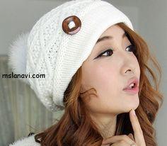 Sombreros de moda asociados con agujas