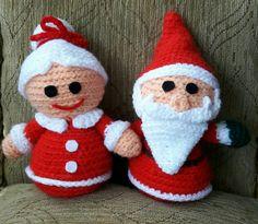 Navidad #Navidad #amigurumi #amigurumis #tejidocrochet #tejiendoamano #hechoamano #Ecuador #Quito  #muñecostejidos #papanoel