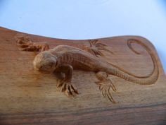 Chopping Board Lizard - www.bernart.ch