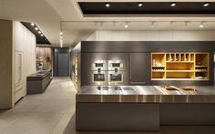 ceiling: lui pico, Più alto   pendular: Divo sospeso    kitchen: Gaggenau