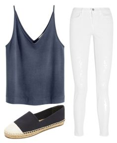 """""""Untitled #222"""" by preppedinpolos on Polyvore featuring Tory Burch and J Brand"""