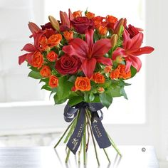 Luxury flowers from fleming florist naas Red Lily, Luxury Lifestyle Women, Luxury Flowers, Grand Entrance, Lush Green, Flower Designs, Red Roses, Bouquet, Rustic