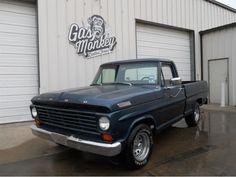 Gas Monkey Garage - Ford pickup truck