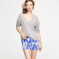 the color and print on these shorts are spot on. love them!