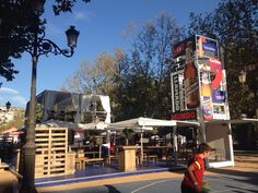 Containers para todas las sedes del mundial de basquet España 2014. Box-coffee  By myboxexperience.com