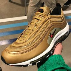 premium selection f2b7b 74fd7 Nike Air Max 97 to Release in Metallic Gold