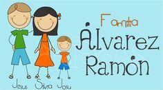 Sticker para Regalo Familia Palito