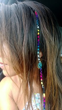 Read more about braided hairstyles Hippie Braids, Bohemian Braids, Hippie Hair, Bohemian Hair, String Hair Wraps, Thread Hair Wraps, Boho Hairstyles, Summer Hairstyles, Hairstyle Ideas