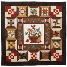 Vote thru 12/15 for Morton Masterpiece. This quilt is Spoolin' Around made by Mary Jones