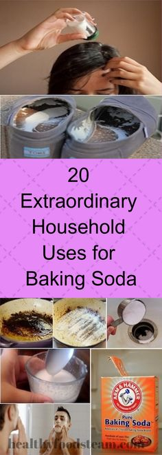 20 Extraordinary Household Uses for Baking Soda – Health Care Fitness Baking Soda For Skin, Baking Soda For Dandruff, Baking Soda Health, Baking Soda Shampoo, Baking Soda Uses, Healthy Soda, Healthy Recipes, Cooking Ingredients, Healthy Living Tips