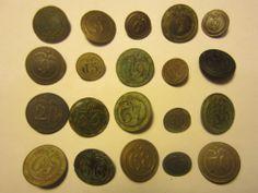 lot de 20 boutons de régiment d'infanterie - 1° Empire/Restauration - button | eBay