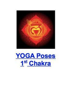 {1st Chakra} YOGA POSES - Warrior, Triangle, Eagle