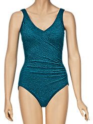 Chlorine-Resistant Swimsuit Flatters Figure and Will Not Fade