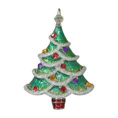 Christmas Tree Antique  Reproduction by LaurenSpencerJewelry