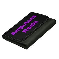 #Amputees Rock! (Bright Purple) Wallet #gifts