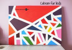 Chubby Anecdotes   Singapore Parenting and Kids' Art Blog: Making Sense of Cubism - Art Appreciation & Simple Project for Little Children