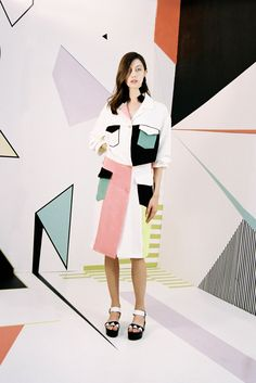 Edeline Lee Spring 2016 Ready-to-Wear Fashion Show