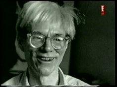 Biografía de Andy Warhol. Un icono artístico del siglo XX Andy Warhol, Science And Technology, Pop Art, High Fashion, History, American, Youtube, Modern Art, Documentaries