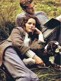 Fashion, British, style, pet, dog, walking, nature, country